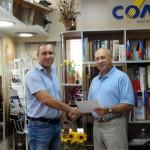 Вручение сертификатов консультантам Solatube 3